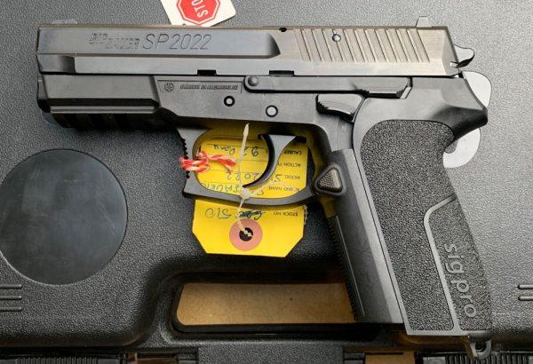 Acheter SIG SAUER SP 2022  Où vendre des armes
